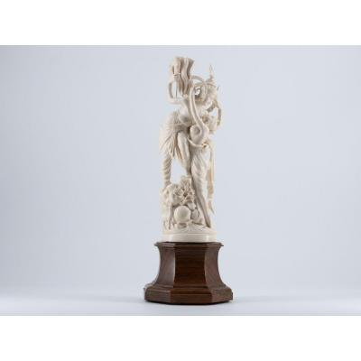 Indian Ivory, Late 19th / Early 20th Century