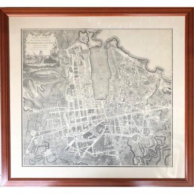 Plan De Marseille époque XVIIIéme (campen)