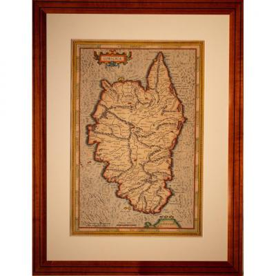 Carte Fin XVIéme Mercator 1597