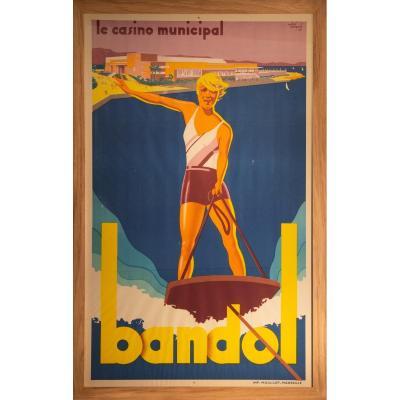 André Bermond, Le Casino Municipal De Bandol, Imprimerie Moullot-marseille