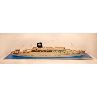 Agency Model Of The Lyautey Liner From The Paquet Company