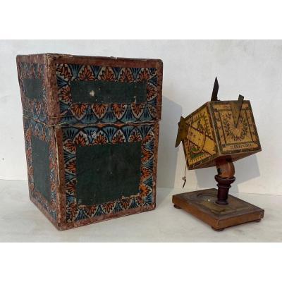 Sundial In Its Original Box Eighteenth Time By David Beringer