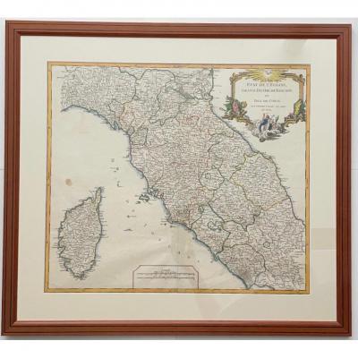 Grand Duché De Toscane Et Isle De Corse XVIIIème