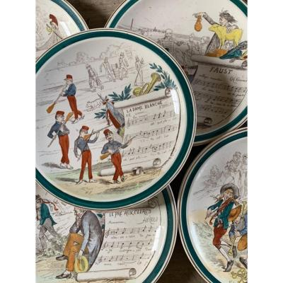 Earthenware Plates