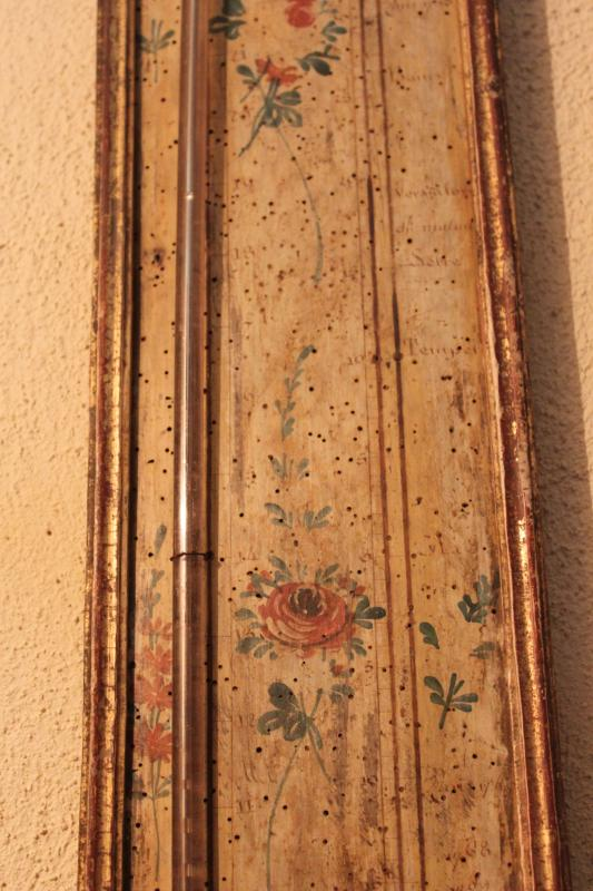 Barometer Thermometer Louis XVI-photo-3