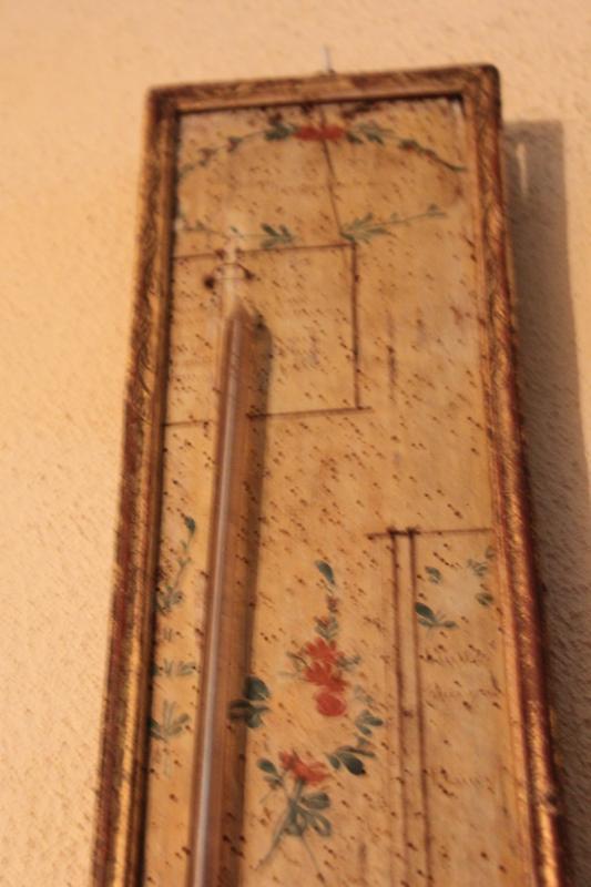 Barometer Thermometer Louis XVI-photo-4
