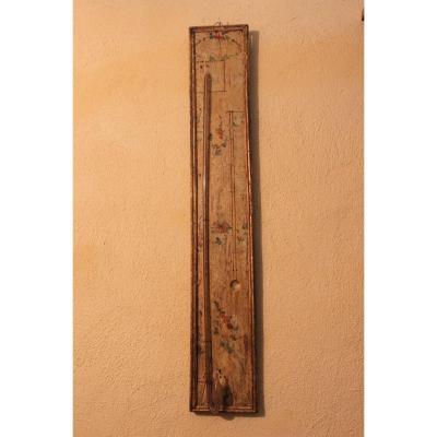 Baromètre Thermomètre Epoque Louis XVI