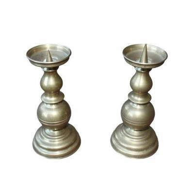 Pair Of Holandais Candlesticks