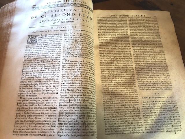 Les Oeuvres Spirituelles Du R.p. Louis De Grenade 1690-photo-2