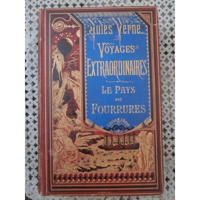 Jules Verne, Le Pays Des Fourrures