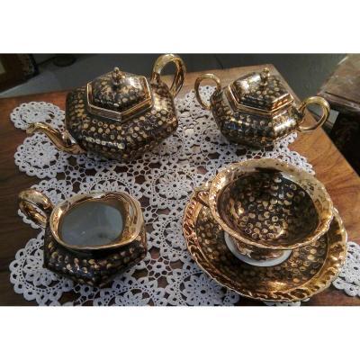Limoges Art Deco Porcelain Tea Service 1925