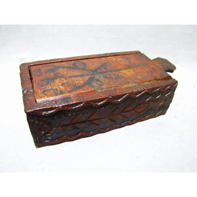 Box With Values. Popular Art From Auvergne.