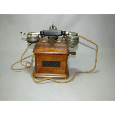 Téléphone Ancien. Modèle 1910.