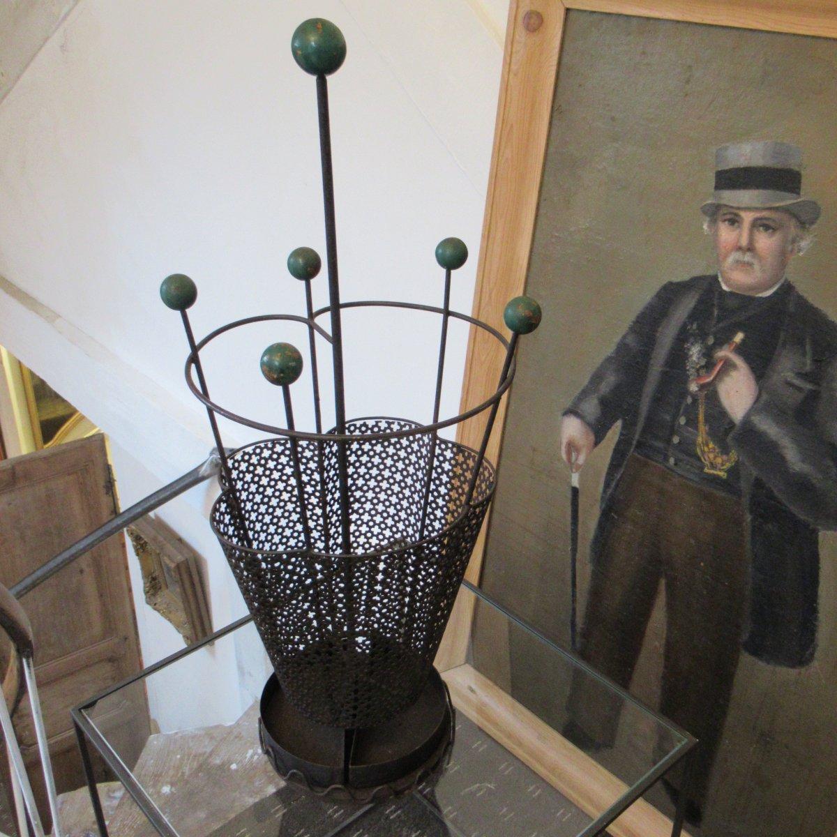 Umbrella Holder (mathieu Matégot?)
