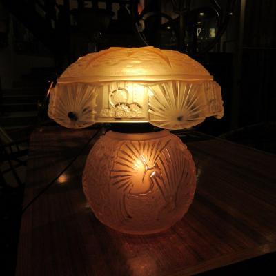 Lampe Muller Frères a lunéville