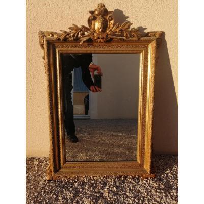 Miroir Napoléon 3 Doré