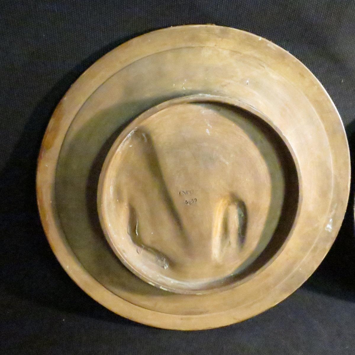 Johann Maresch Pair Of Plates Plates Pottery Central European Gypsies-photo-8