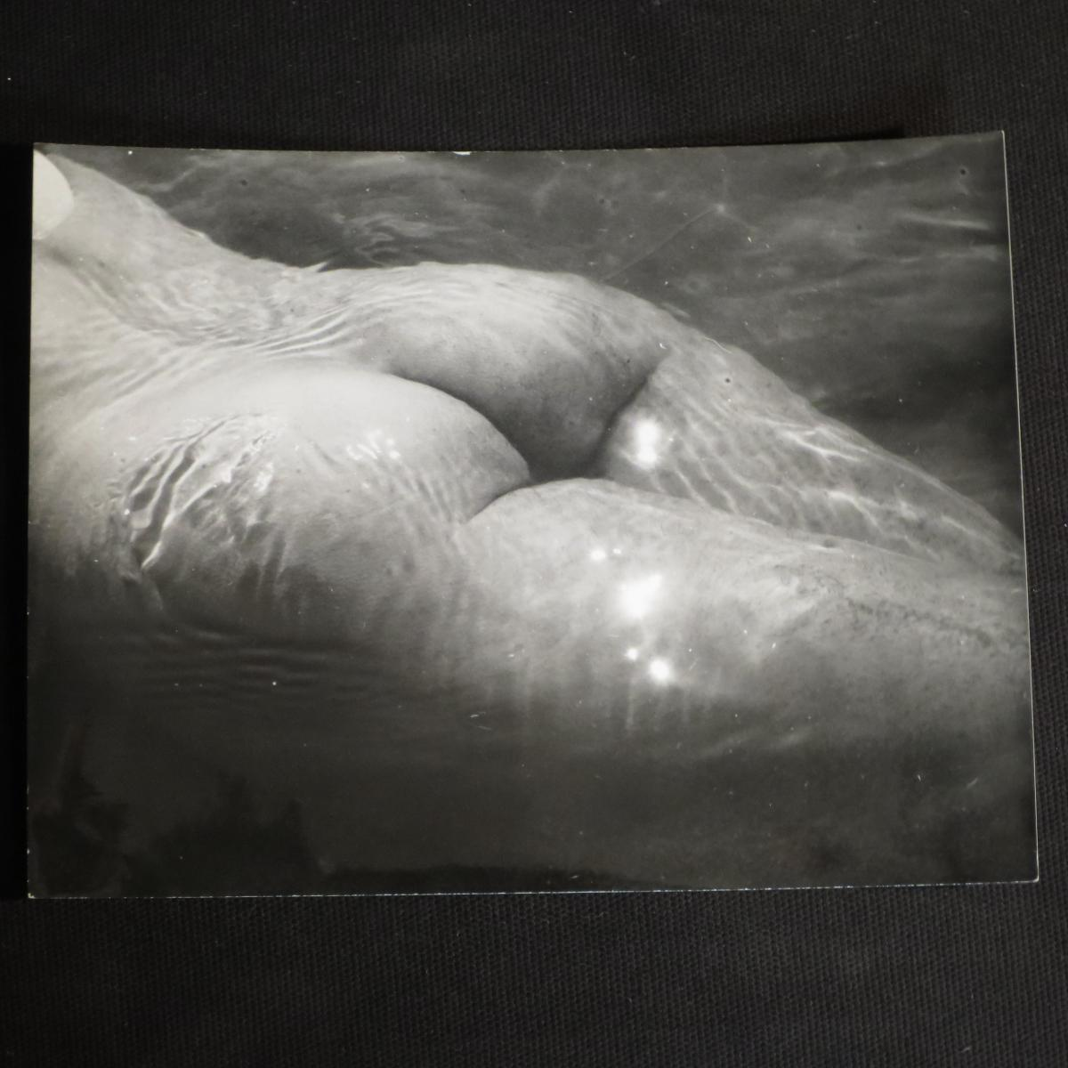Lucien CLERGUE tirage photographique NU DE LA MER 1965 photo argentique