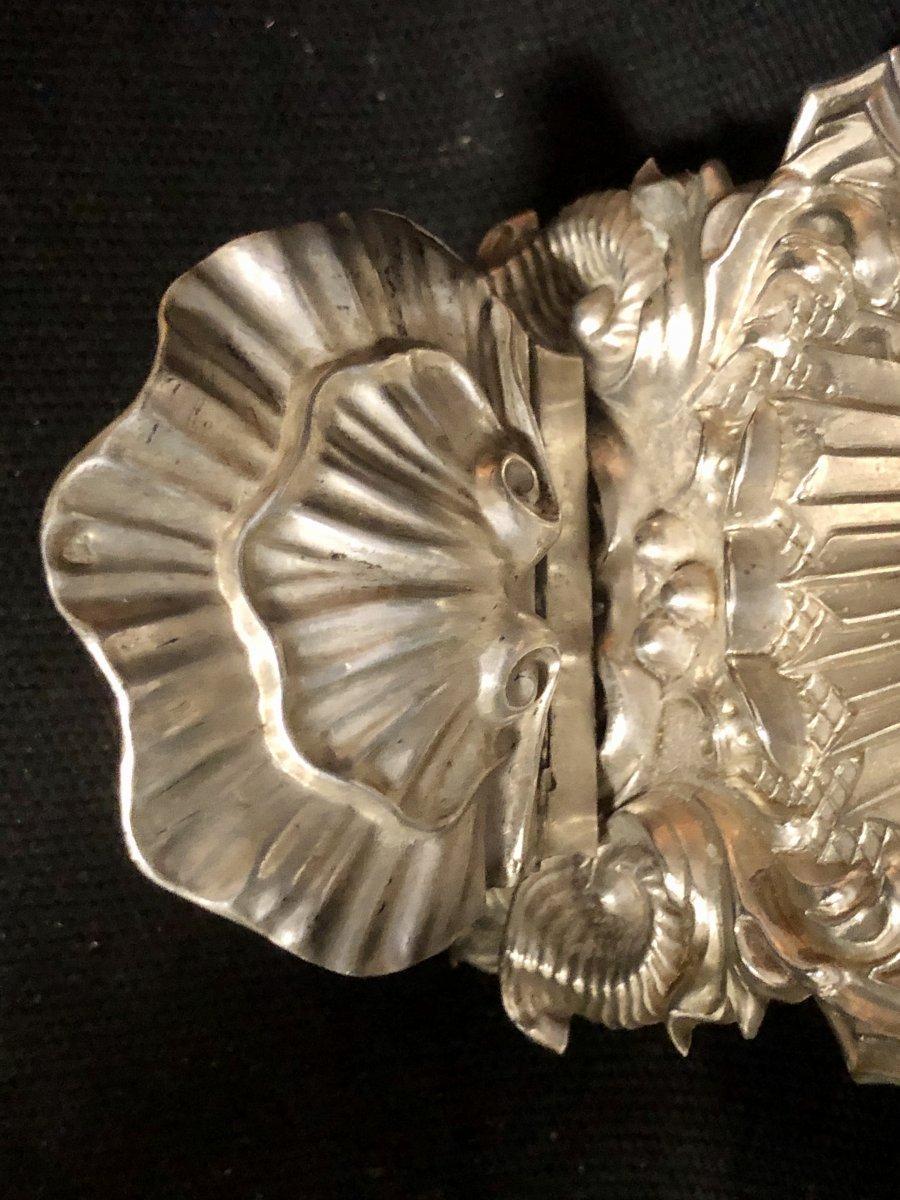 Italie Bénitier en argent et vermeil XIXe Sardaigne Turin coeur-photo-6