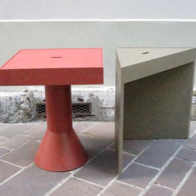 Massimo MOROZZI 2 elements mobilier modulables TANGRAM 1983 CASSINA