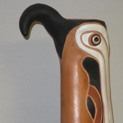 Jean MARAIS (1913-1998) enorme sculpture oiseau 82 cm signé