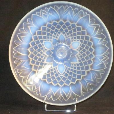 Etling (dlg) Opalescent Fruit Cup Art Deco 1930