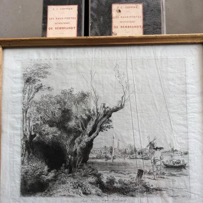 Rembrandt Van Rijn (after) Louis Marry