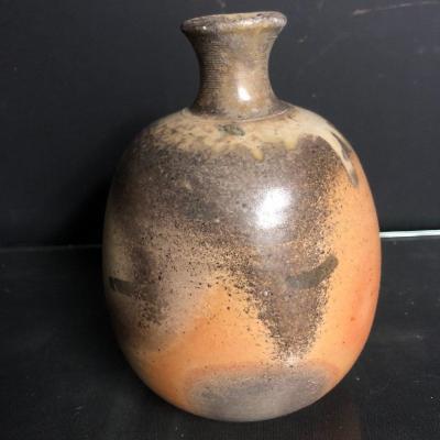 Horst KERSTAN 1941-2005 Vase en céramique signé et daté