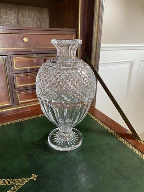 Baccarat. Paire De Vases-photo-1