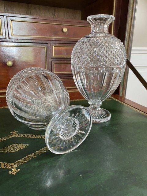 Baccarat. Paire De Vases-photo-3
