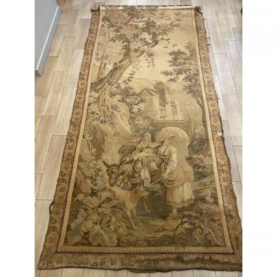 XIXth Century Mechanical Tapestry