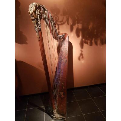 Harpe Française 18ème Siècle