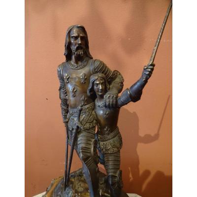 """Bronze19 Eme Siecle """" Guerre De 100 Ans"""""""