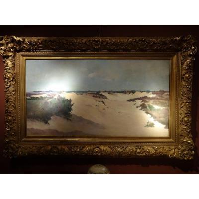 Grand Tableau Scene De Dune