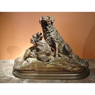 Bronze Animalier De Jules Moigniez