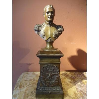 Buste En Bronze Napoleon Bonaparte