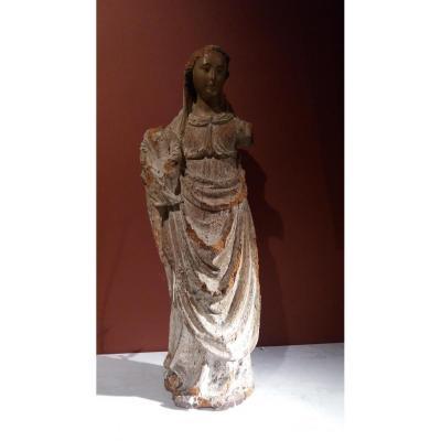 Sculpture En Bois Sculpte Ancien