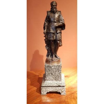Bronze Milieu 19 ème Ambroise Paré