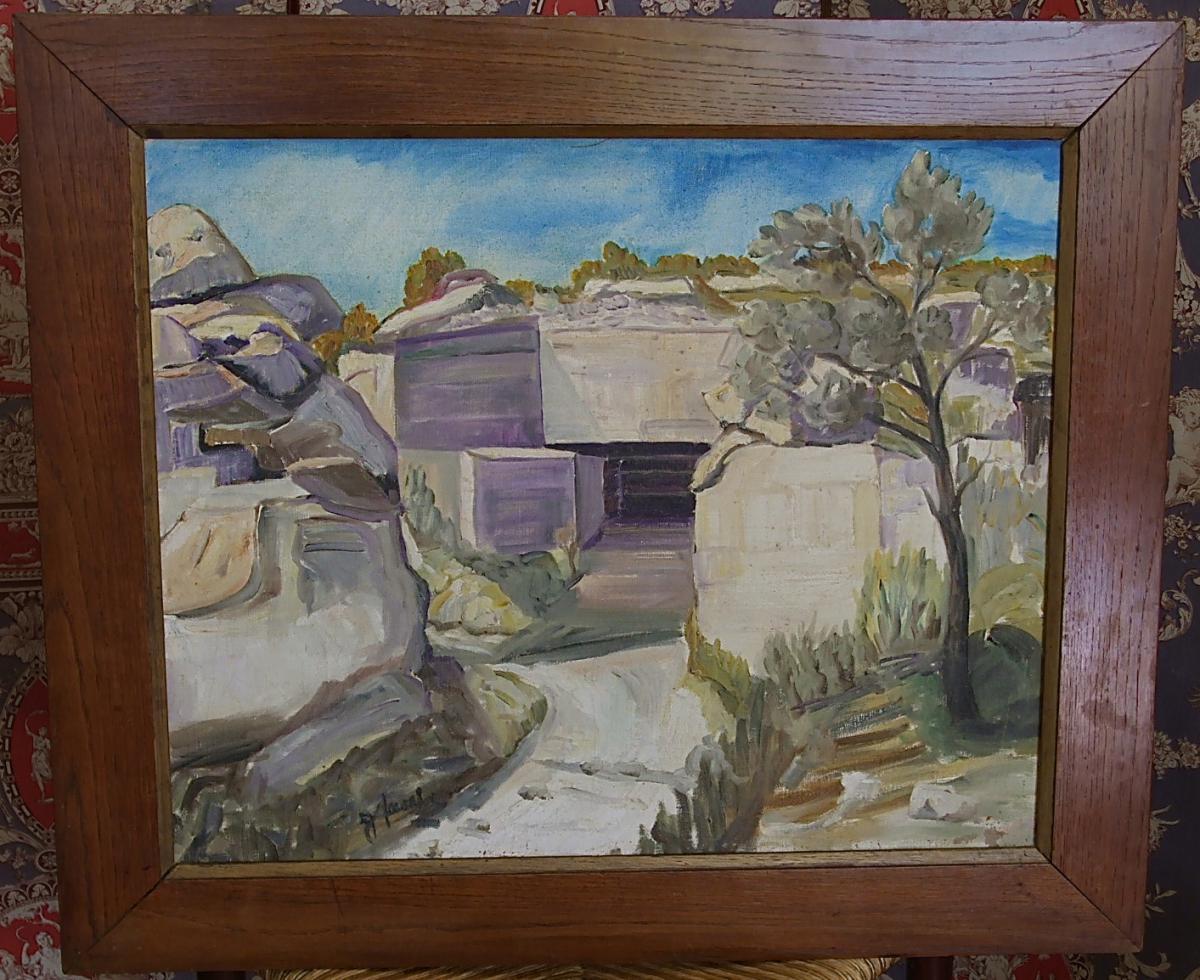 Les Baux De Provence: Carrière De Sarragan