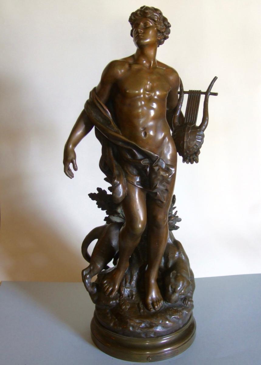 """""""Orphée""""  Bronze Par Mathurin Moreau"""