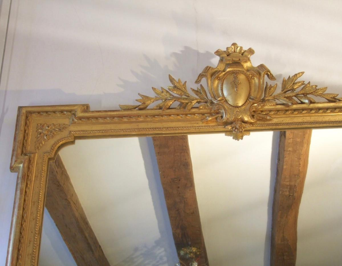 Miroir De Style Louis XVI / Epoque XIXème