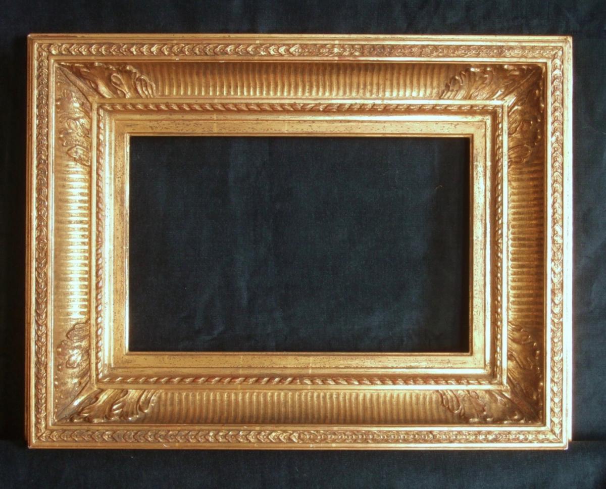 Cadre à Canaux De Style Louis XVI