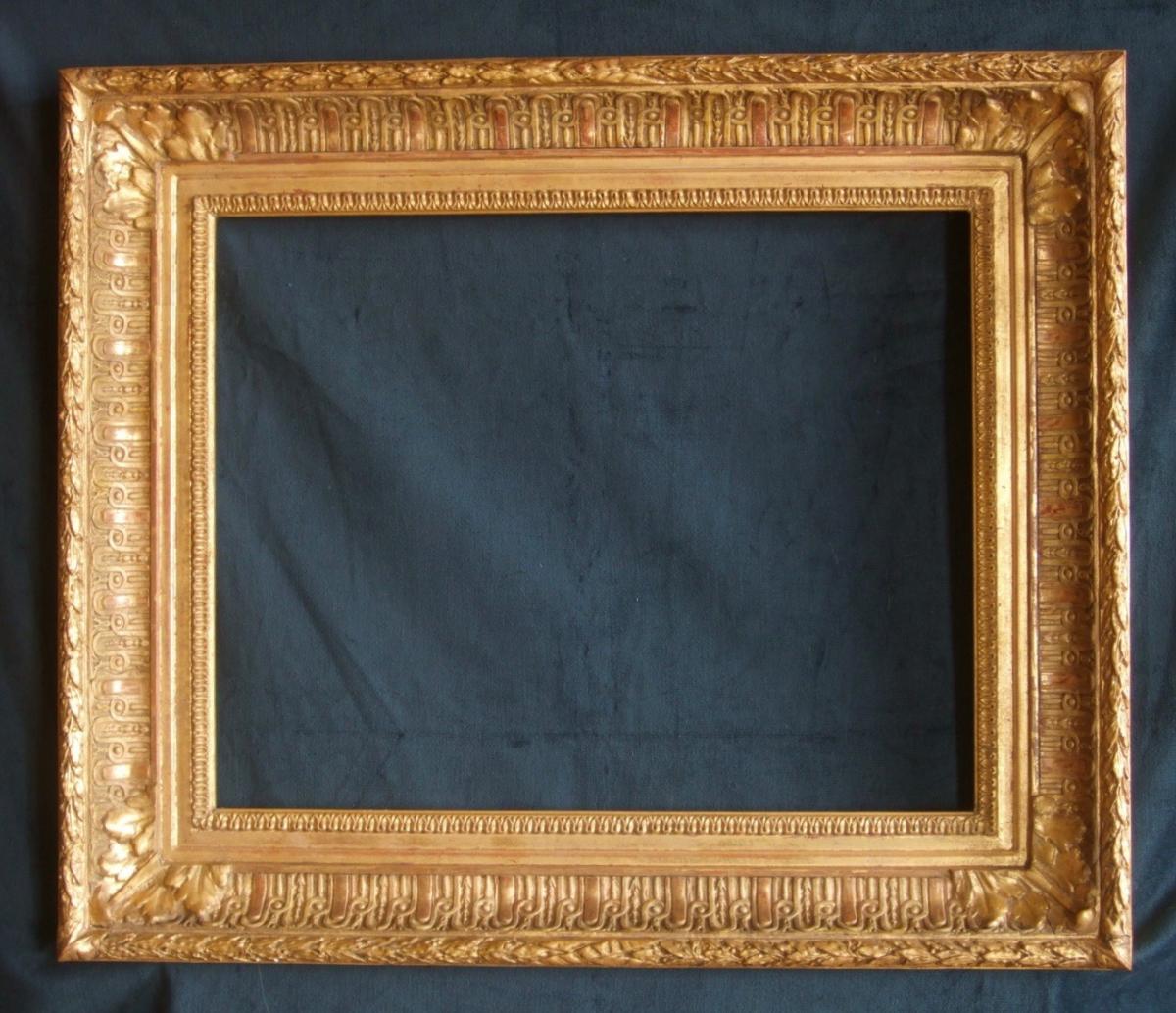 Cadre XIXème à l'Or