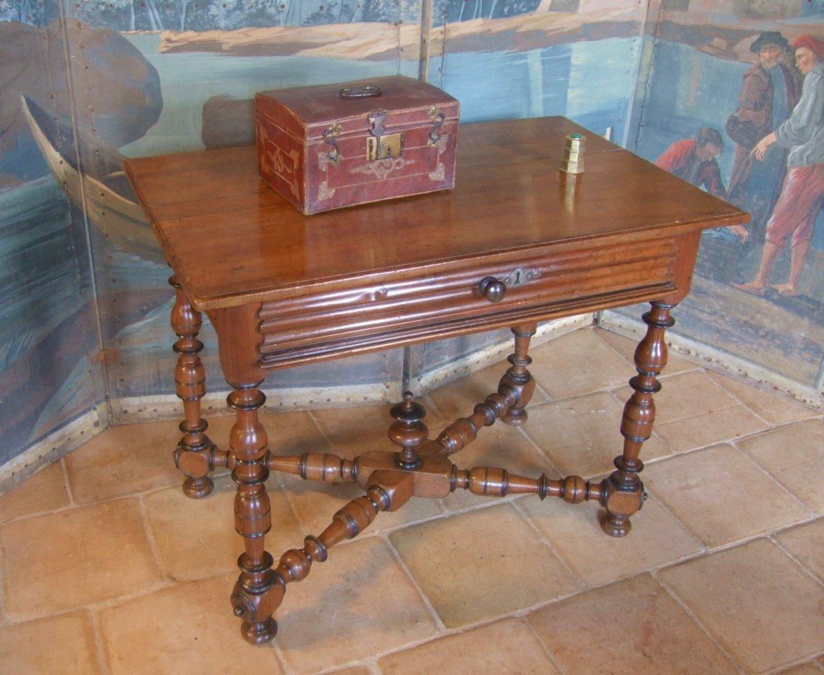 XVIIth Century Walnut Table