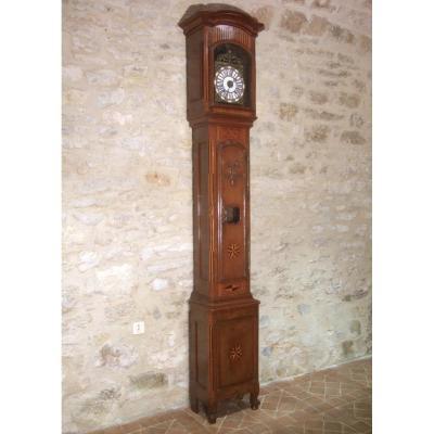 Horloge De Parquet  Lorraine XVIIIè