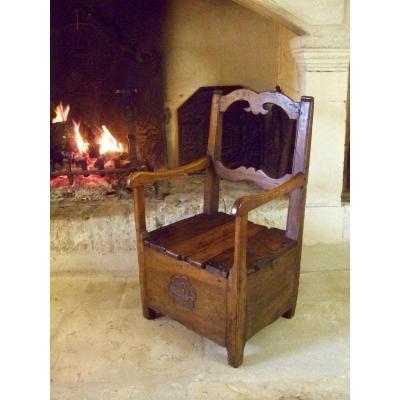 Eighteenth Auvergne Salt Chair