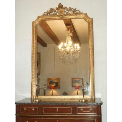 Miroir De Style Louis XVI  Epoque XIXè
