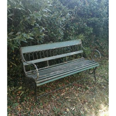 Middle Nineteenth Garden Bench