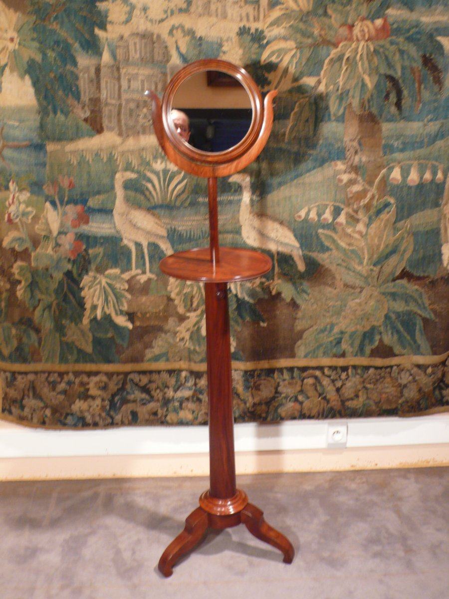 Barbière Louis-philippe Period Mahogany.