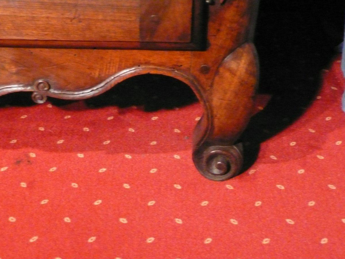 Buffet En Noyer De Style Louis XV-photo-3